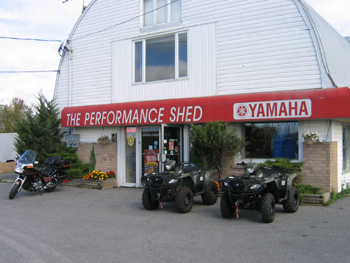 Welcome To The Performance Shed, Your Five Star Yamaha